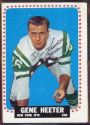 autographed 1964 topps gene heeter