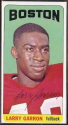 autographed 1965 topps larry garron