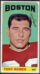 autographed 1965 topps tony romeo