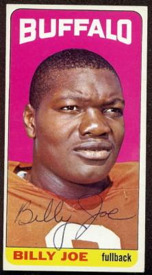 autographed 1965 topps billy joe