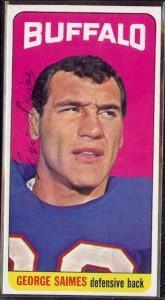 autographed 1965 topps #039 - George Saimes