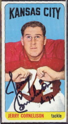 autographed 1965 topps jerry cornelison