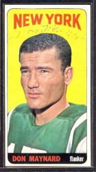 autographed 1965 topps don maynard