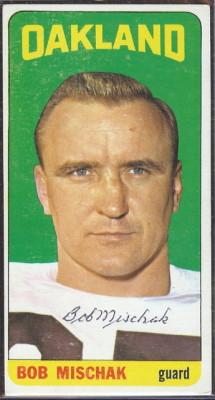 autographed 1965 topps bob mischak