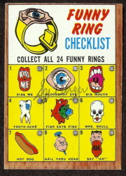 autographed 1966 topps funny ring checklist
