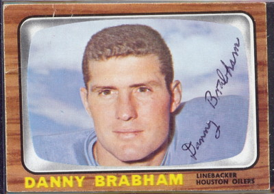autographed 1966 topps danny brabham