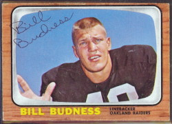 autographed 1966 topps bill budness