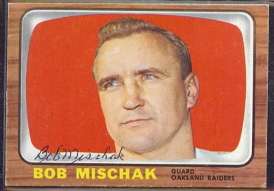 autographed 1966 topps bob mischak