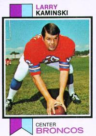 1973 topps larry kaminski