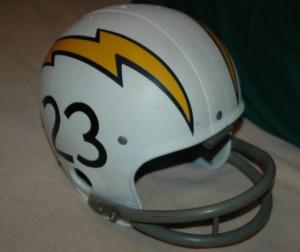 Paul Lowe game helmet