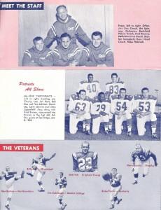 1962 patriots ticket brochure