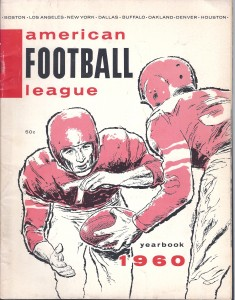1960 AFL yearbook