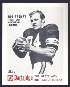 Bob Trumpy Partridge Meats card