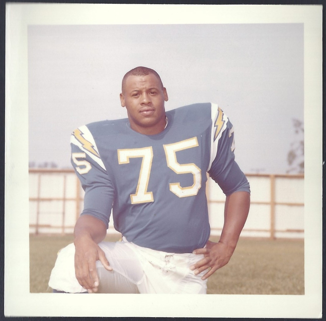 Ernest Jerry: 1964 Chargers Training Camp Photos