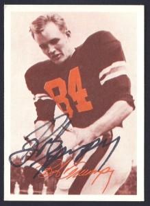 autographed 1969 tresler comet bob trumpy card