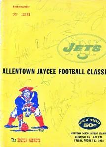 allentown game program
