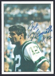 1981 TCMA - 06 - Joe Namath