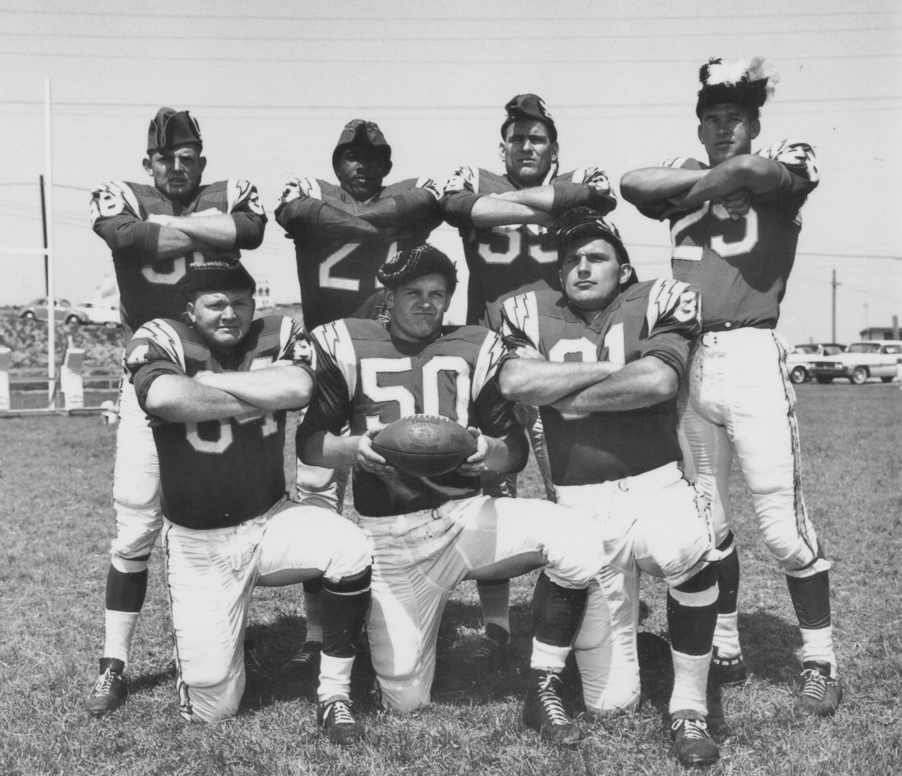 Pro Football Hall Of Fame Remembers The 1961 Chargers