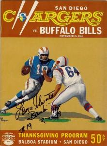 thanksgiving day game, 1964