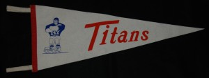 new york titans pennant