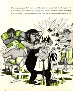 ewbank-namath cartoon
