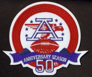 afl 50th anniversary patch