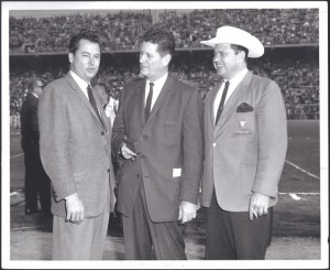 barron hilton, joe foss, bud adams