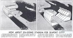 floating stadium
