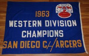 1963 afl western division championship banner