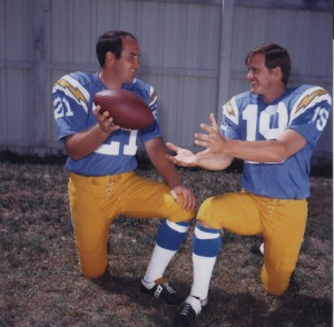 john hadl and lance alworth