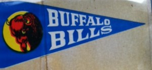 1964 buffalo bills insert pennant