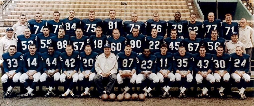 1960 buffalo bills team photo