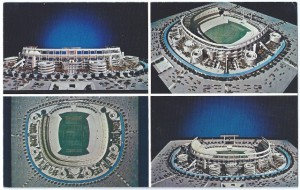 san diego stadium promotional postcard
