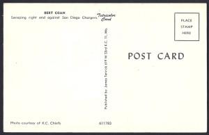 bert coan postcard