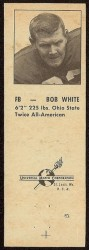 1960 Oilers Matchbook - Bob White