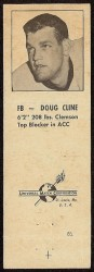 1960 Oilers Matchbook - Doug Cline