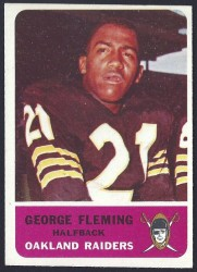 1962 fleer - george fleming
