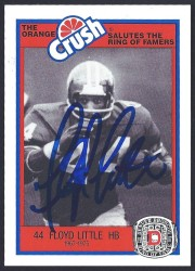 1987 Broncos Rign of Fame - Floyd Little