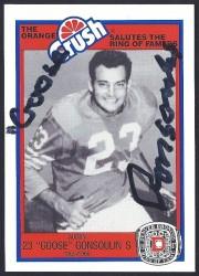 1987 Broncos Rign of Fame - Goose Gonsoulin