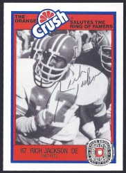 1987 Broncos Rign of Fame - Rich Jackson