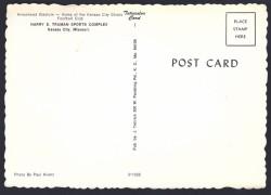 arrowhead stadium postcard