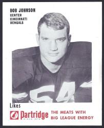 1968-70 Partridge Meats - Bob Johnson