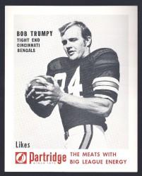 1968-70 Partridge Meats - Bob Trumpy