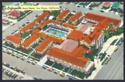 lafayette hotel postcard