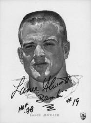 1962 Union Oil - Lance Alworth