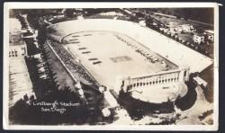 balboa stadium postcard