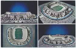 san diego stadium postcard