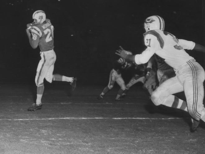 1960 chargers vs. patriots