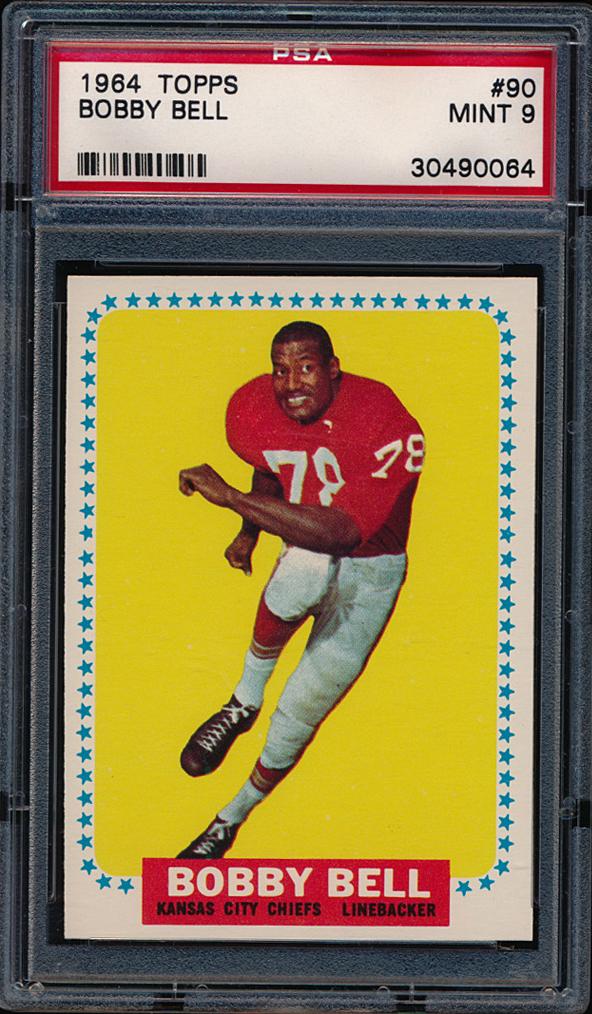 1964 topps bobby bell