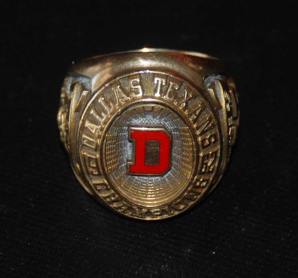 chris burford's ring